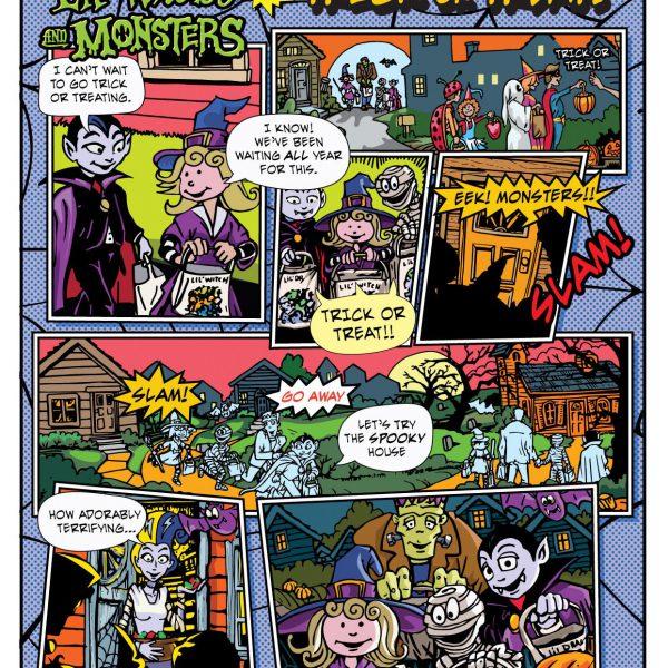 Comic page
