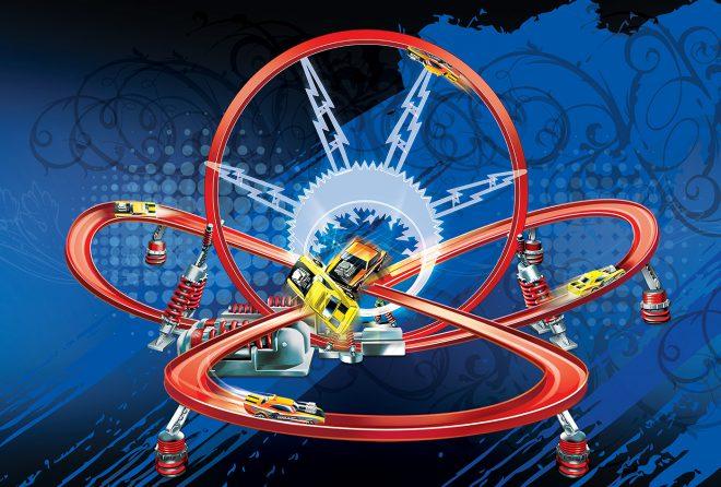 Raod Champs Lightning Loop Playset