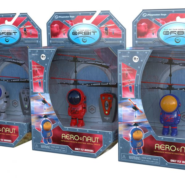 Aeronauts Packaging