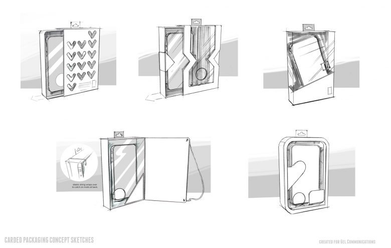 Packaging structural studies for iPhone packaging