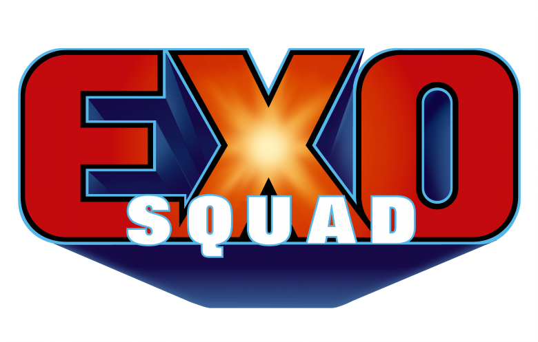EXOSQUAD™ Toy property Logo for Playmates Toys