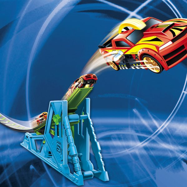Gx Racers airJump Playset