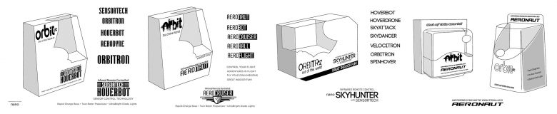 Initial packaging studies for Orbit rc Packaging