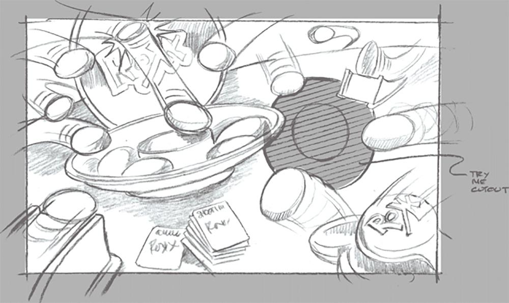 Pencil Concept Sketch