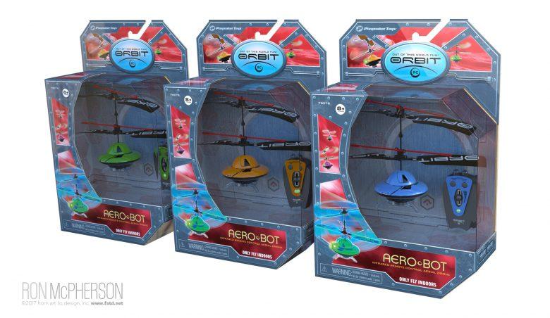 Aerobots Packaging
