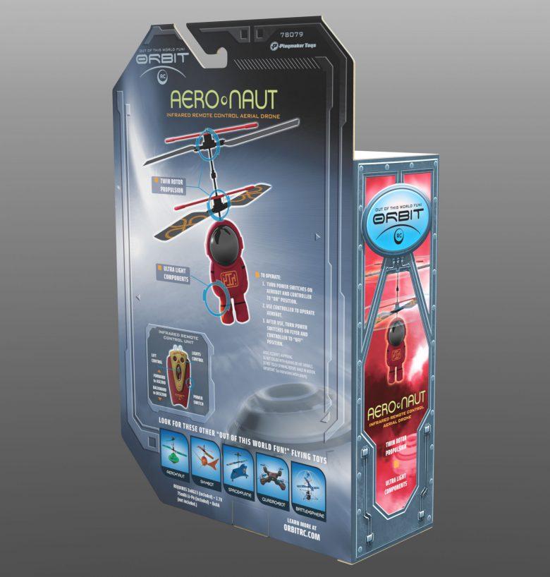 Aeronaut back of packaging