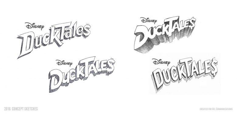 DuckTales 2016 logo concept