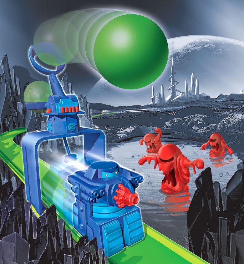 Orb launcher Defense