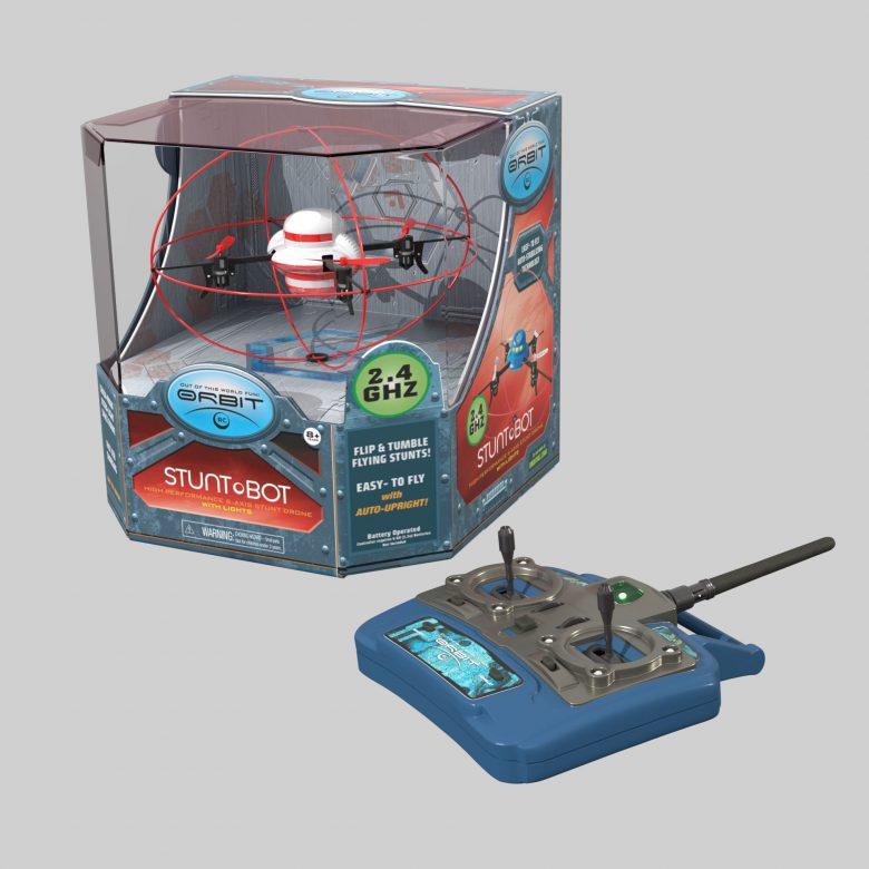 Stuntbot Packaging